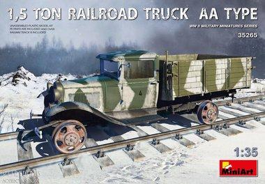1,5 Ton Spoorweg truck Type AA