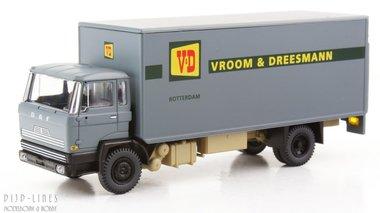 DAF kantelcabine kofferopbouw Vroom en Dreesman. Anno 1982