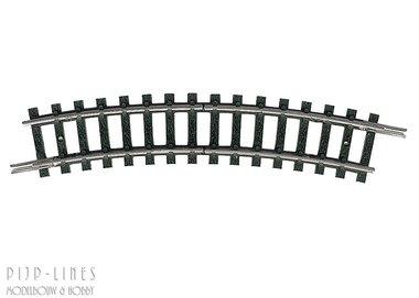 MINITRIX Scheidingsrail gebogen R1