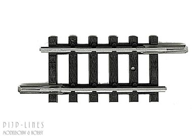 MINITRIX Rechte rails 27,9mm