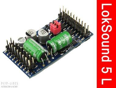 LokSound 5 L. Universeel decoder voor zelf laden van geluid met adapter printplaat