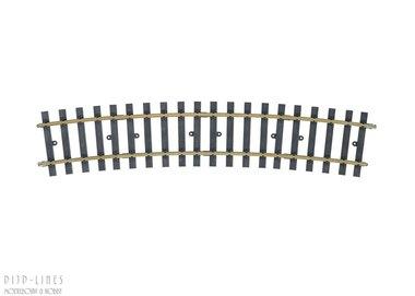 Gebogen rail R4
