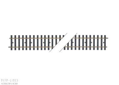 Rechte rail 600mm