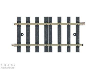 Rechte rail 152,2mm