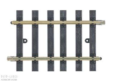 Rechte rail 116mm