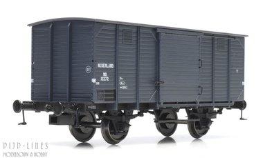 NS Gesloten wagon Type CHD 4m Nr.12272