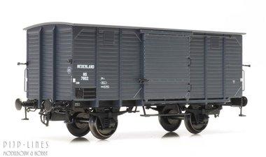 NS Gesloten wagon Type CHD 4m Nr.7802