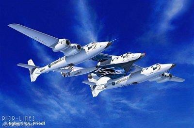 SpaceShipTwo & WhiteKnightTwo