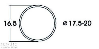 Antislipband. Van 17,5 tot 20 mm. AC