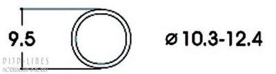 Antislipband. Van 10,3 tot 12,4 mm. AC