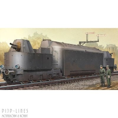 Duitse gepantserde trein Panzertriebwagen Nr.16