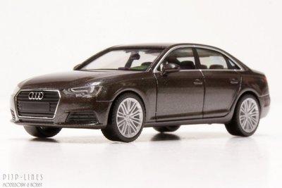Audi A4 Limo. Bruin metallic.