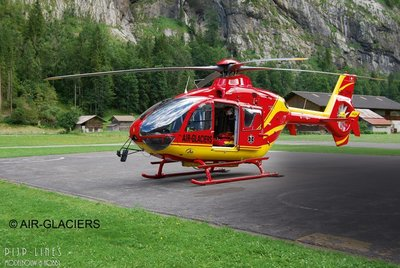 Airbus Helicopers EC135 Air Glaciers