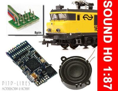 Loksound V4.0  8 polig NS 1600 & 1800