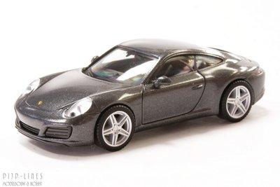 Porsche 911 Carrera 4, grijs
