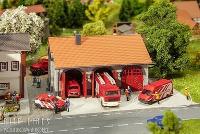 Brandweergarage