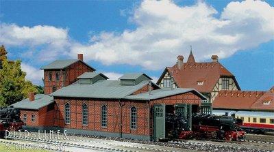 Locomotiefloods voor 2 sporen