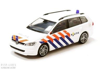VW Golf 7 variant Politie NL