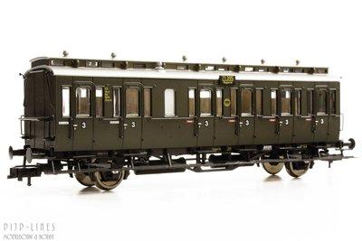 DRG personen wagen 3e klas Type C3 pr21