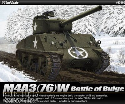 "M4A3(76)W ""Battle of the Bulge"""