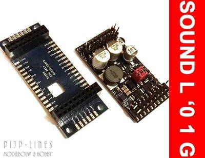 LokSound L V4.0 Universeel decoder voor zelf laden van geluid met adapter printplaat