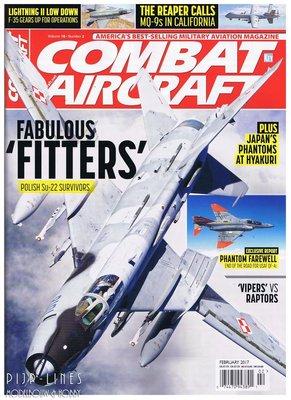 Combat Aircraft Februari 2017