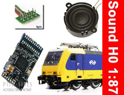 Loksound V4.0 TRAXX E 186 geschikt voor Piko en Roco