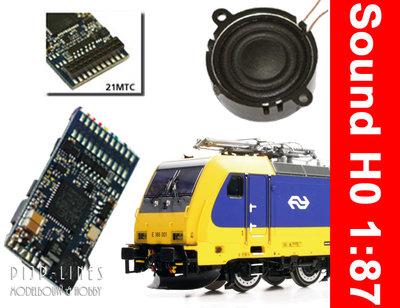 Loksound V4.0 TRAXX E 186 geschikt voor ACME