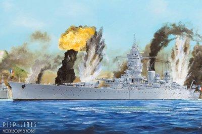 "French Navy ""Dunkerque"" Battleship"