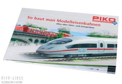 Piko railplan en baanbouw boek