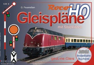 Roco GeoLine railplan boek H0