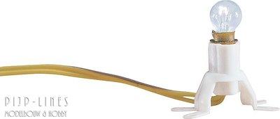 Gloeillamp op sokkel. 16V