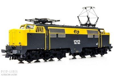 NS E-lok 1212 geel/grijs DC analoog