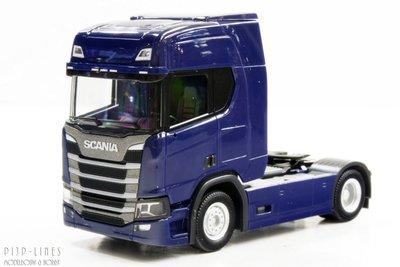 Scania CR 20 trekker Blauw
