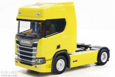 Scania CR 20 trekker Geel