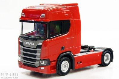 Scania CR 20 trekker Rood
