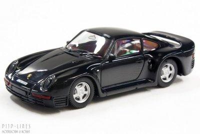 Porsche 959 zwart