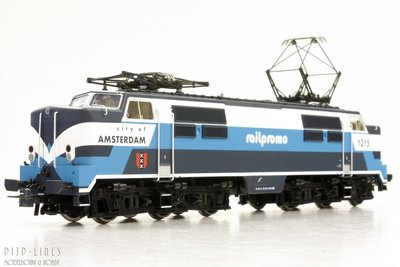 "Elektrische locomotief 1215 Railpromo ""City of Amsterdam"""