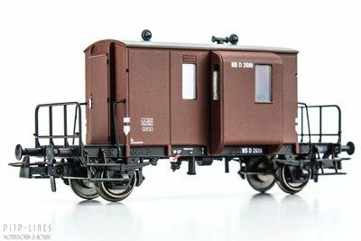 NS DG begeleidingswagen. D 2698