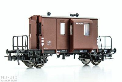NS DG begeleidingswagen. D 2592
