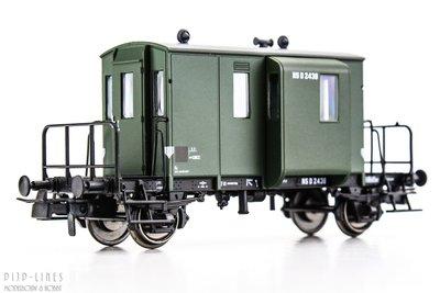 NS DG begeleidingswagen. D 2438