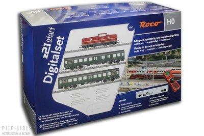 Digitale startset z21start. DB Diesellocomotief V 280 met passagierstrein