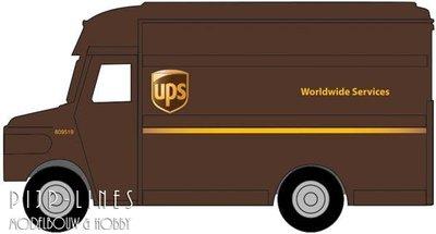 UPS bestelwagen