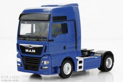 MAN TGX XXL 6c Blauw