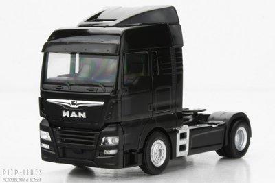 MAN TGX XLX 6c Zwart