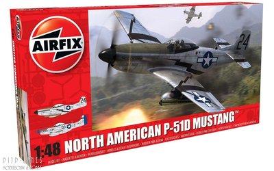 North American P-51D Mustang 1:48