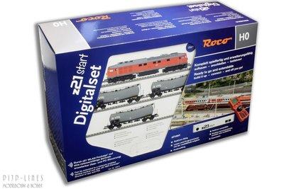 Digitale startset z21start. DB Diesellocomotief BR 232 met goederentrein