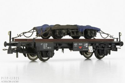 NS Werkwagen met draaistel