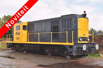 """NS Diesellocomotief 2400 geel/grijs """"2454"""""""