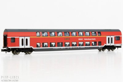 DB-AG Dubbeldekker 1e/2e klas (Südostbayernbahn)